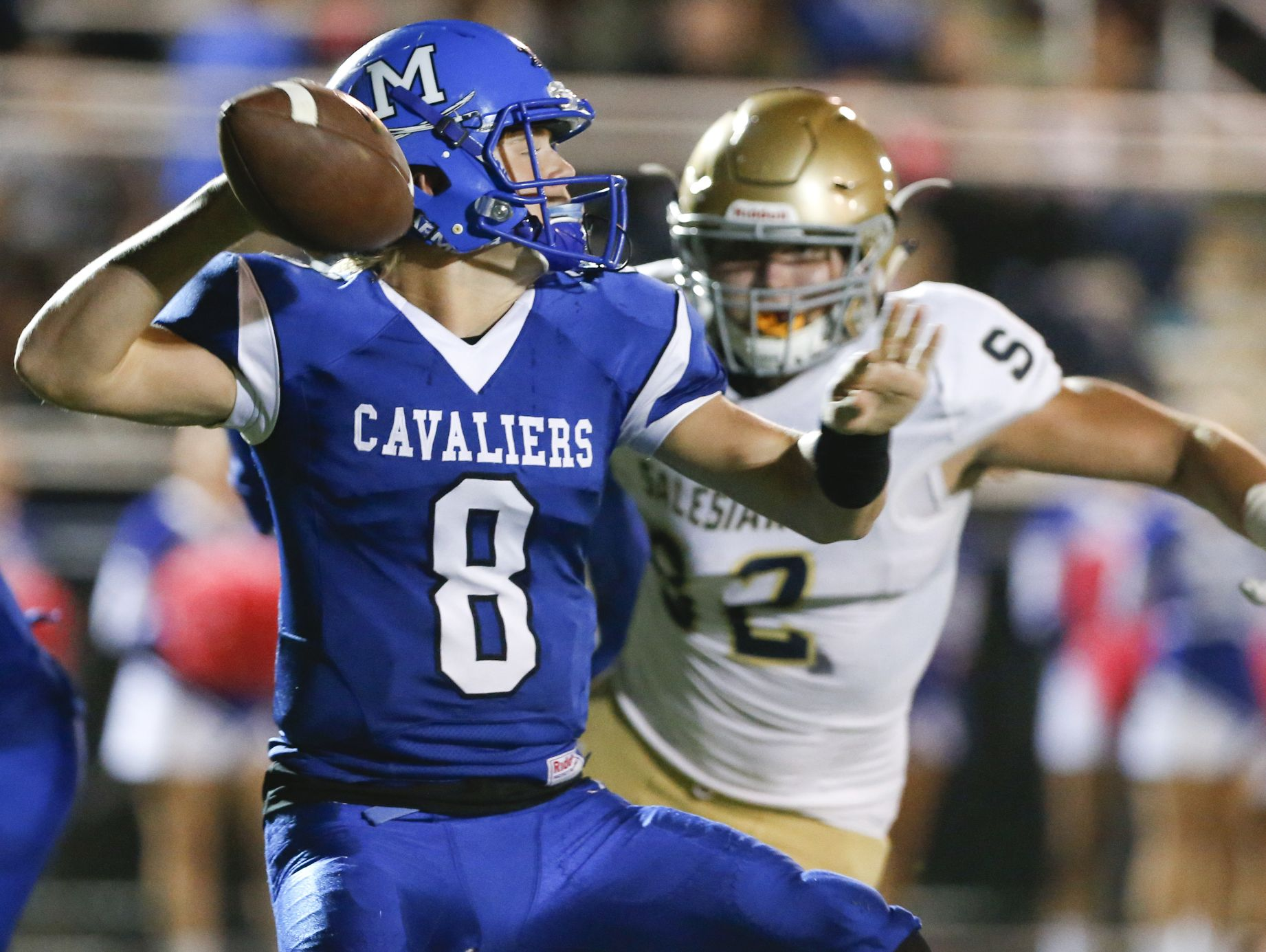 Sophomore Drew Fry has thrown for 2,542 yards and 35 touchdowns in his first year as Middletown's starter.