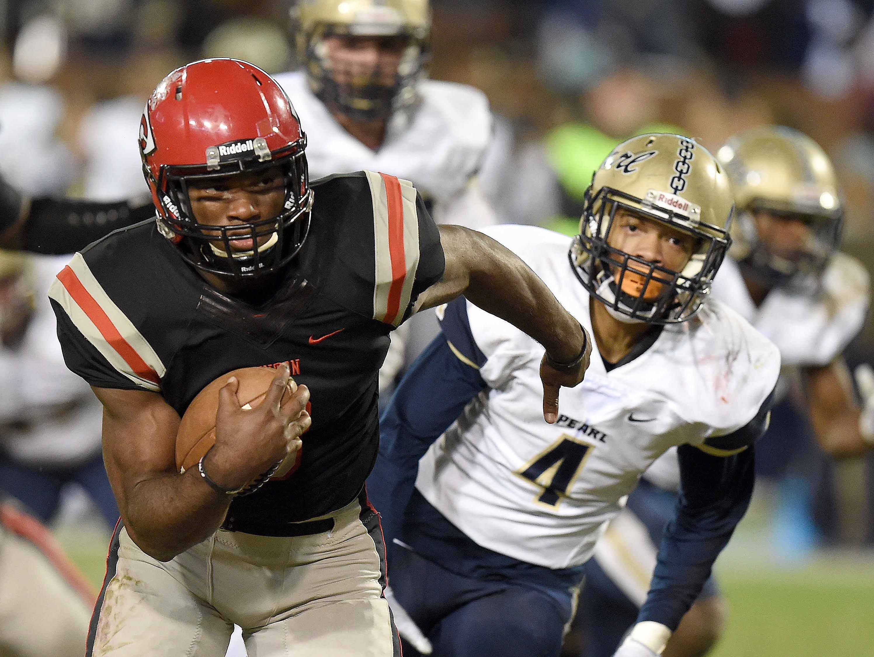 Cam Akers (Photo: Chris Todd, Clarion Ledger)
