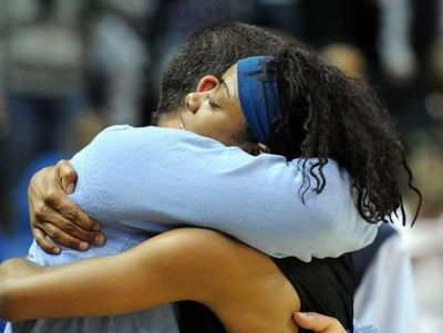 Jeremy Hartman and Angela Mickens finally got a state championship in girls basketball in their third trip to the title game.