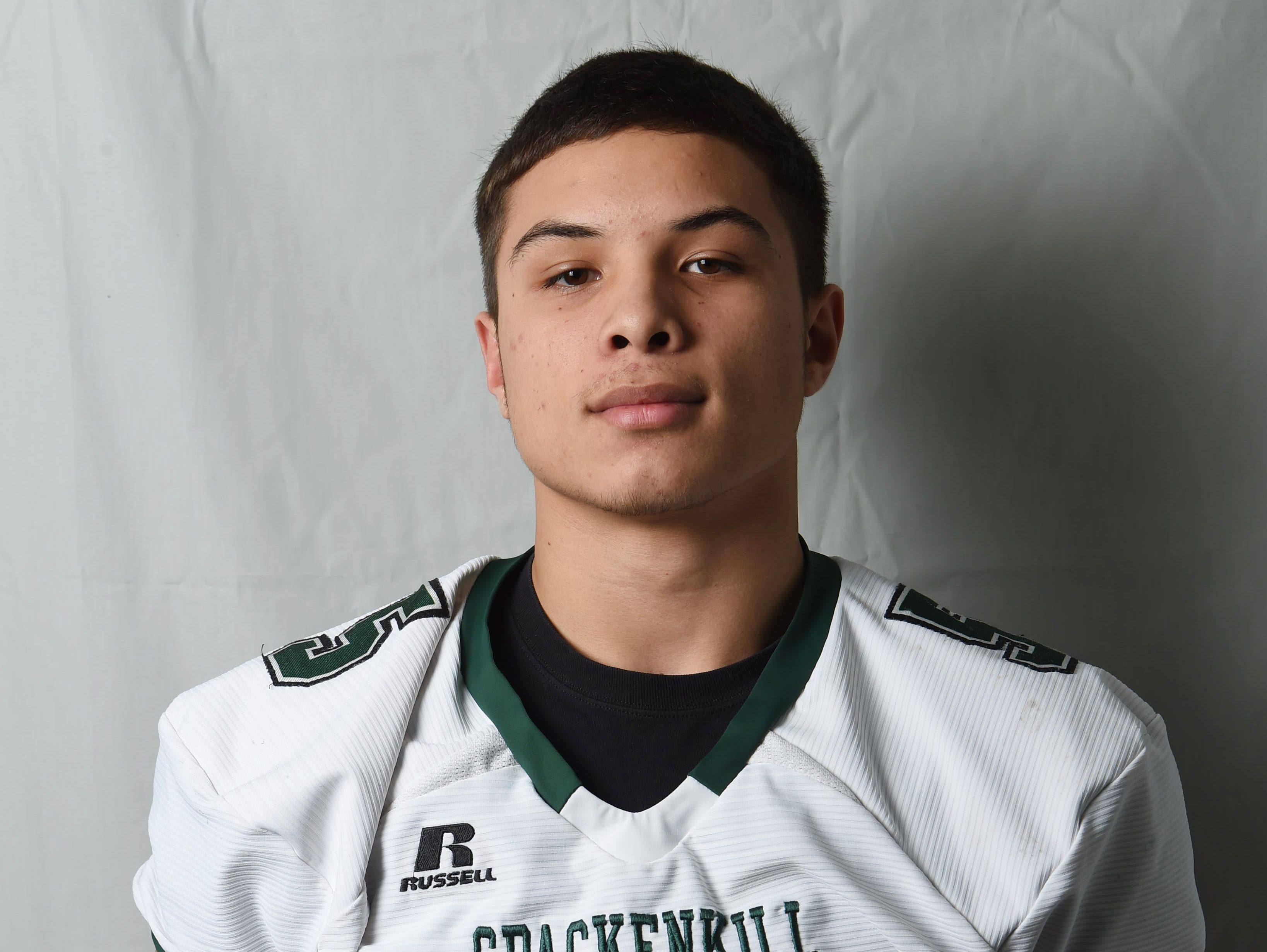 Camron Abalos from Spackenkill High School is the Quarterback of the Year.
