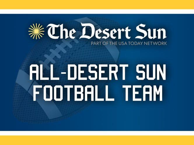 All-Desert Sun football team.