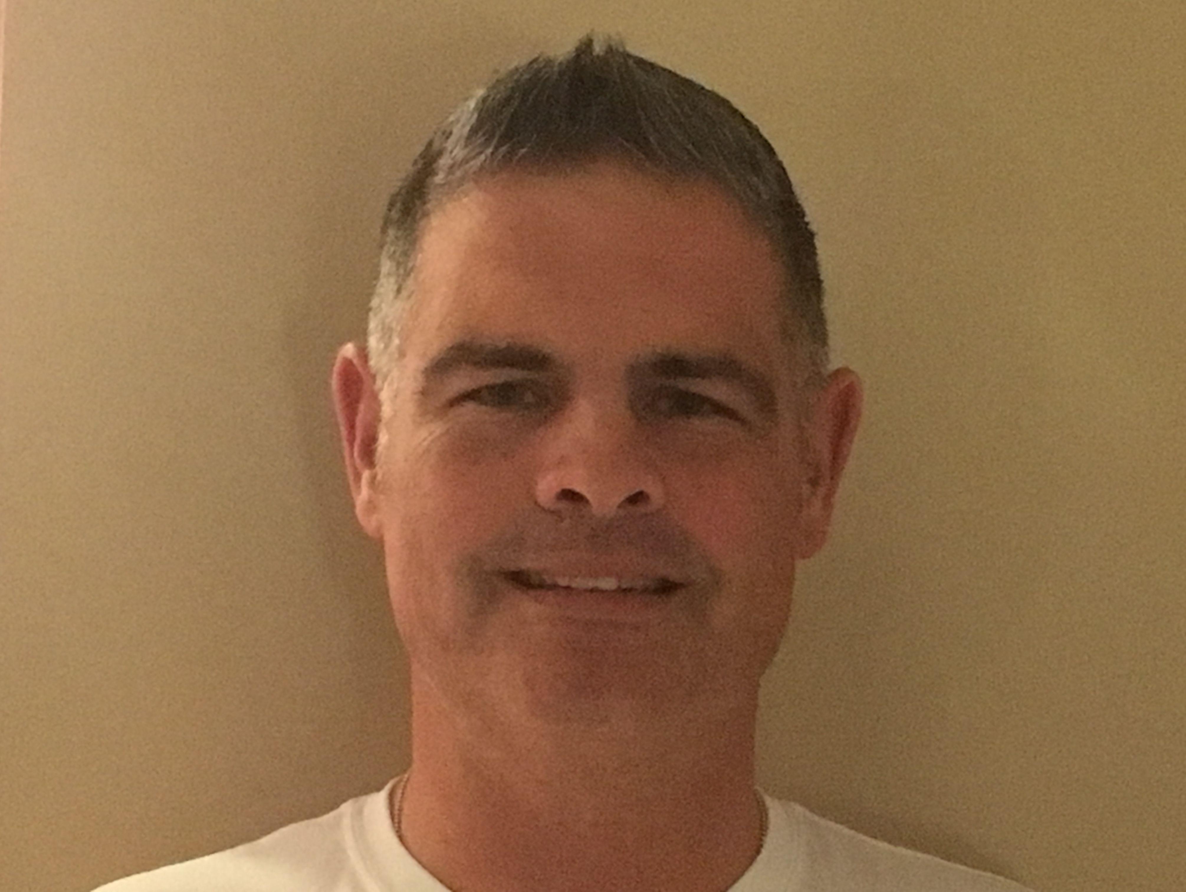 New Paltz football coach Tom Tegeler