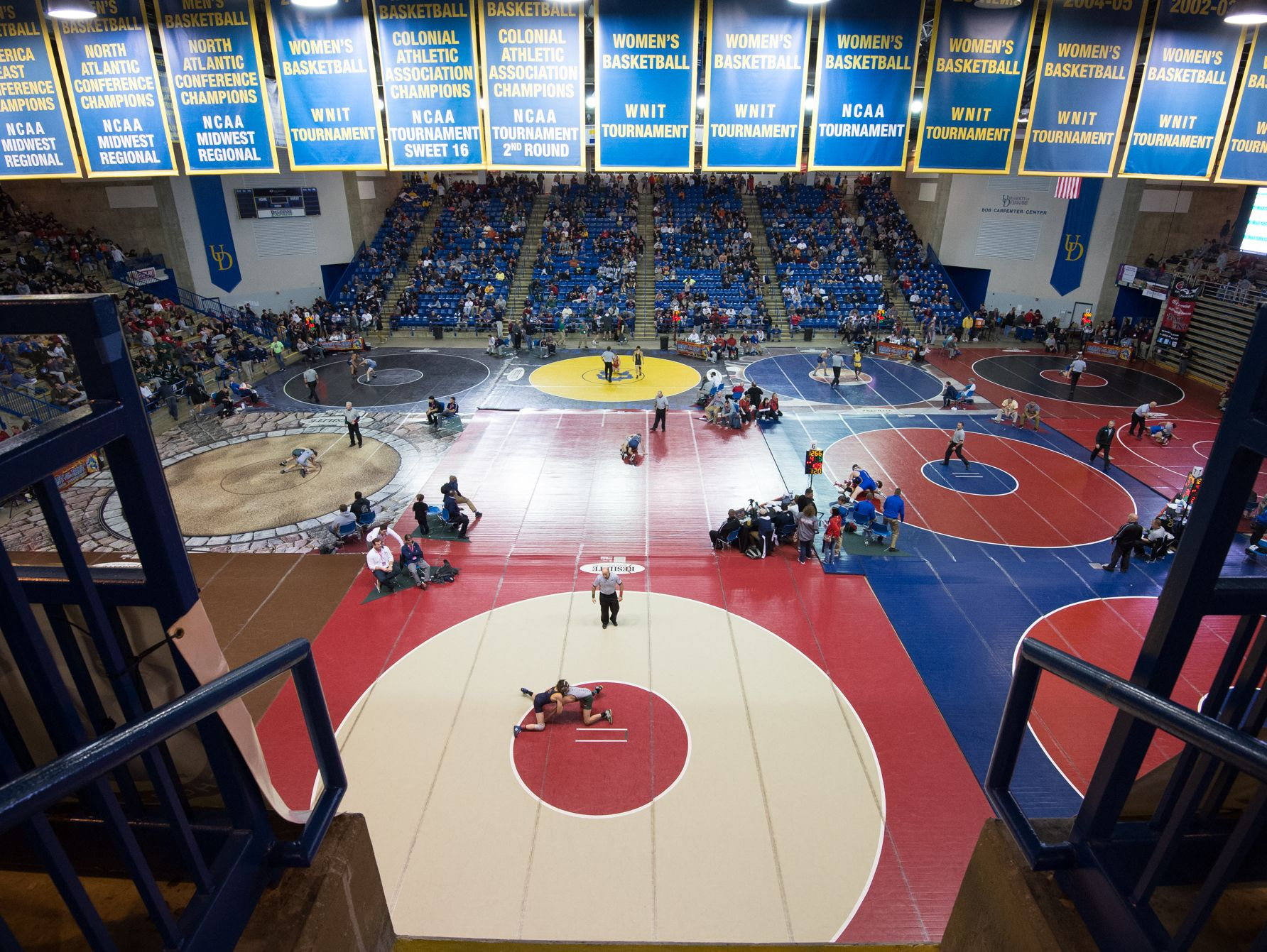 Beast of the East wrestling tournament at the University of Delaware on Saturday.