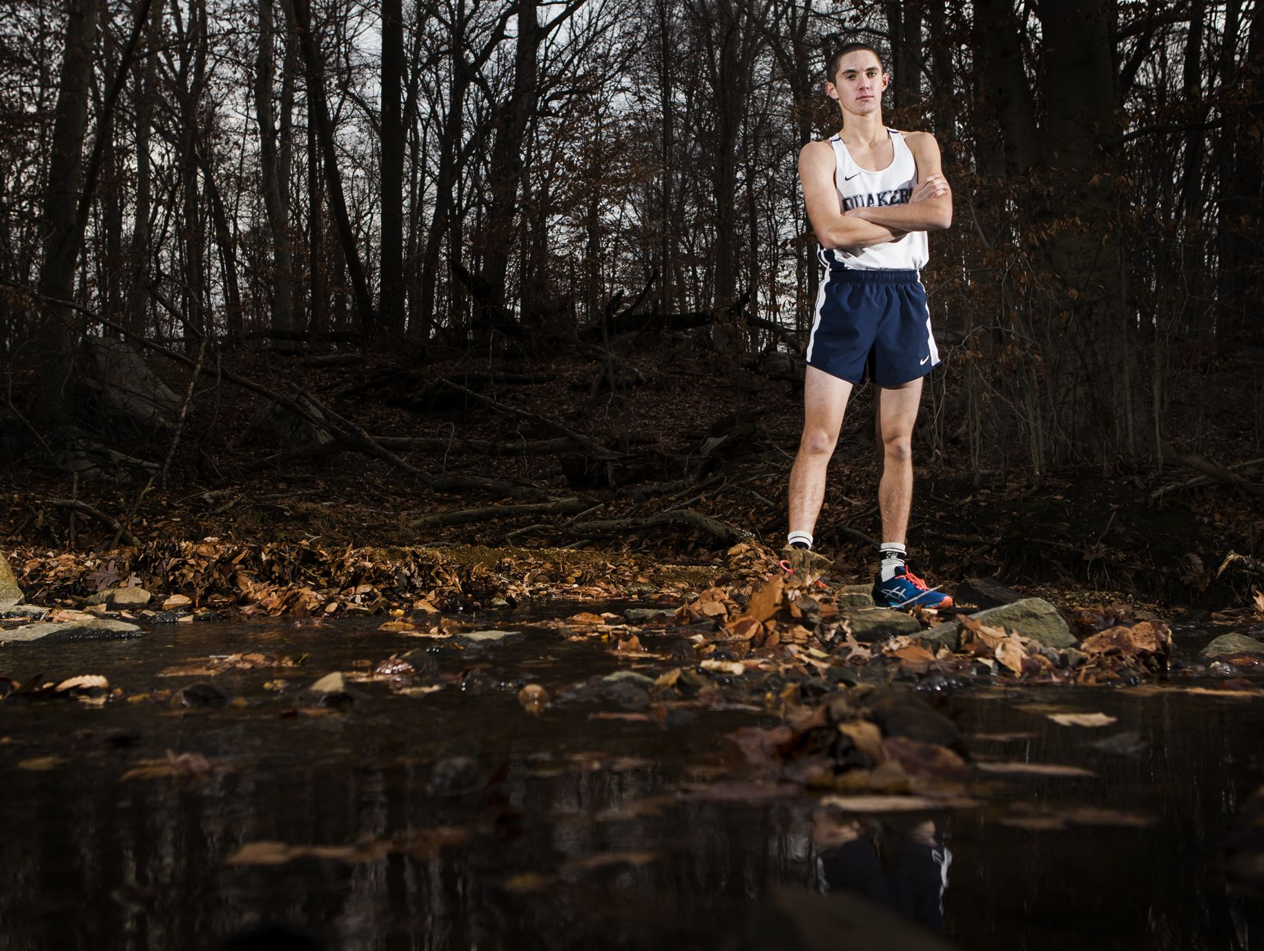 """""""Tennis has made me a great cross country competitor, and cross country has made me a better tennis player,"""" Connor Nisbet said."""