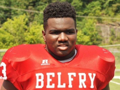Belfry defensive lineman Rayquan Horton
