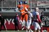 Bishop Gorman's Brevin Jordan celebrates his touchdown with Tate Martell (18) against Liberty in the Class 4A state football championship game Saturday, Dec. 3, 2016, in Las Vegas. Bishop Gorman won 84-8. (Erik Verduzco/Las Vegas Review-Journal via AP) ORG XMIT: NVLAS102