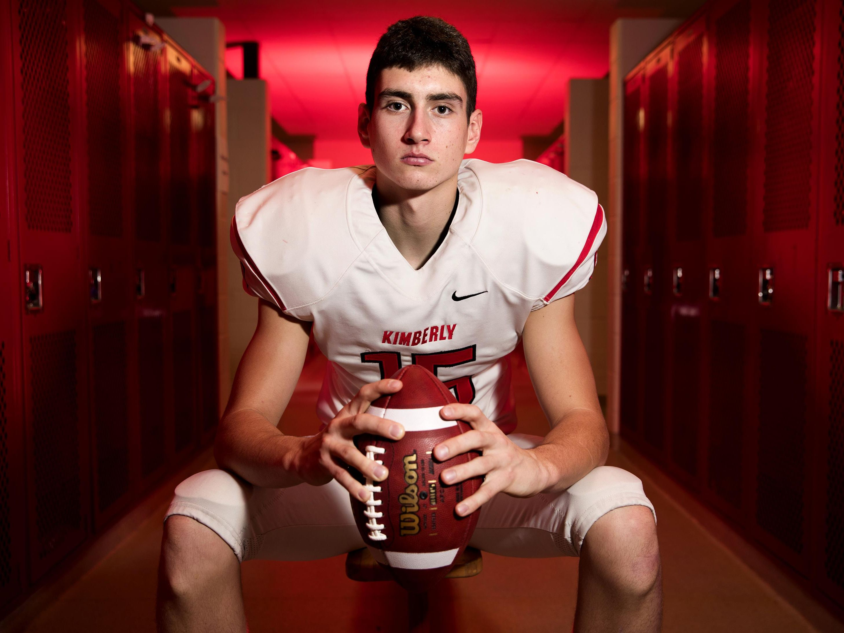 Danny Vanden Boom, a senior at Kimberly High School, is the Post-Crescent's prep football athlete of the year.