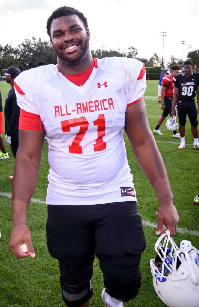 Calvin Ashley has been at four high schools, but Orlando is his home and expects a lot of supporters for the Under Armour All-America Game here. (Photo: Under Armour All-America Game).