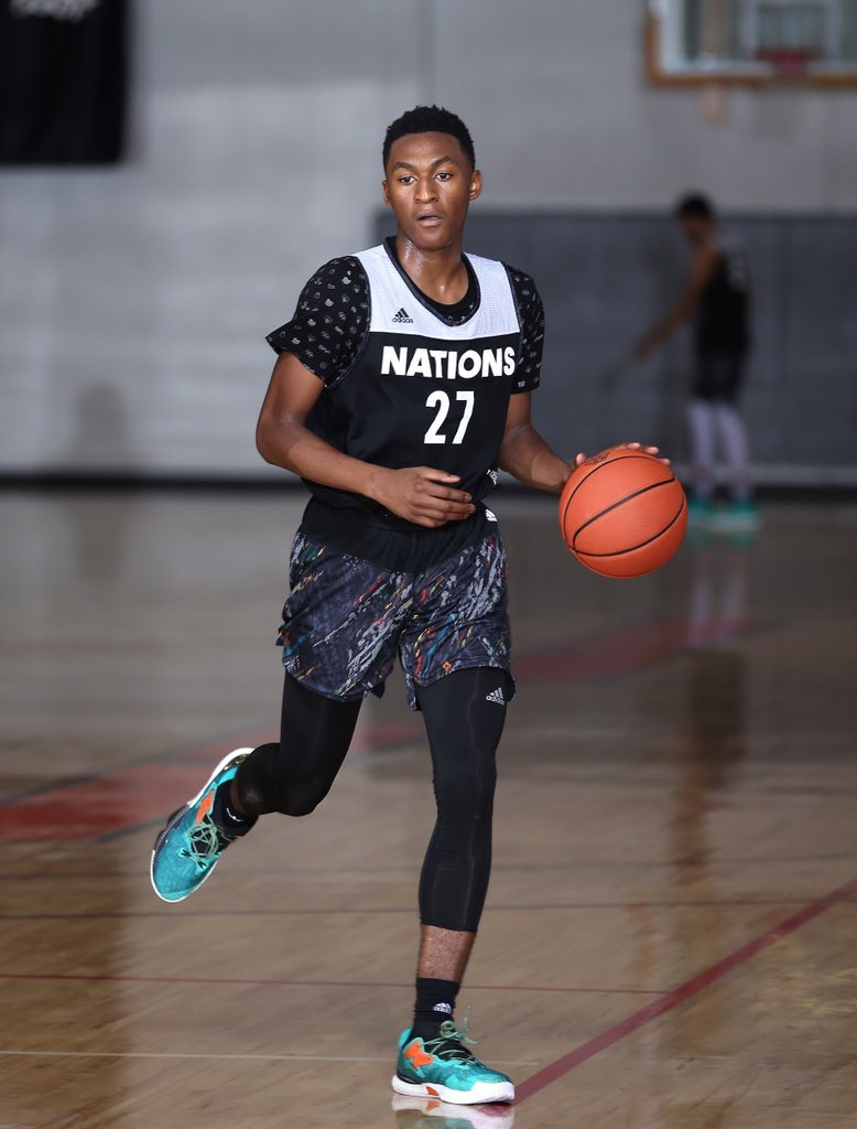 Five-stat PG Immanuel Quickley's biggest fear is being average. (Photo: adidas)