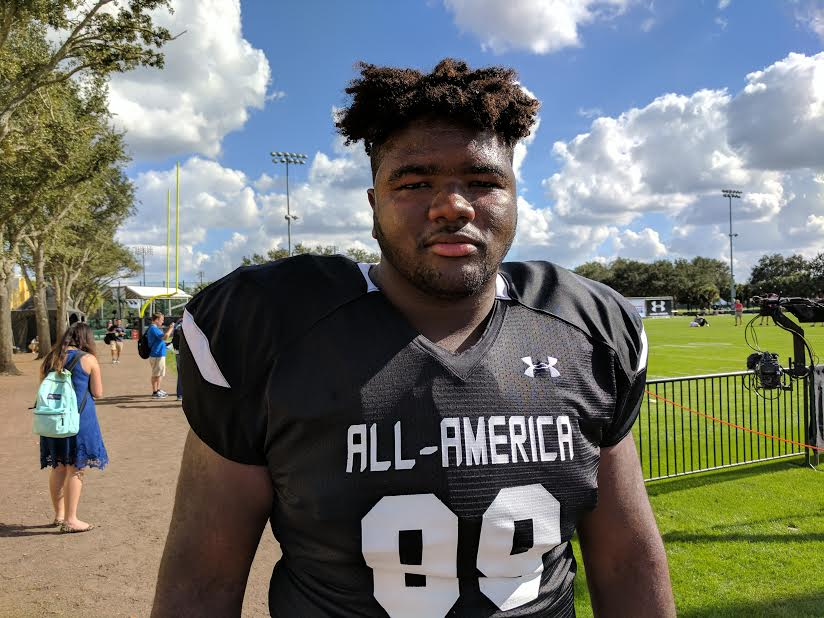 Episcopal (Bellaire, Texas) is mentioned by many players at the Under Armour All-America Game as a potential defensive MVP in the game. (Photo: Jim Halley, USA TODAY Sports).