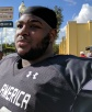 Notre Dame (Crowley, La.) defensive tackle Tyler Shelvin, who already said he was committing to LSU, said he plans to announce his college at Sunday's Under Armour All-America Game. (Photo: Jim Halley, USA TODAY Sports).