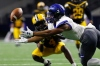 Dec 23, 2016 -- Frisco, TX, U.S.A -- GEICO State Champions Bowl Series. -- Valdosta Wildcats cornerback Tyler Berrian (4) and Chandler Wolves wide receiver Johnny Johnson III (3) battle for the ball during the first half. Photo by Ray Carlin-USA TODAY Sports Images, Gannett ORG XMIT: US 135851 GEICO preps 12/23/201 [Via MerlinFTP Drop]