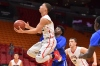 12/8/16 7:21:05 PM -- Miami, FL, U.S.A -- Miami Christian guard Neftali Alverez (2) attempts a shot against Dillard during the first half of the HoopHall Miami Invitational. -- Photo by Jasen Vinlove-USA TODAY Sports Images, Gannett ORG XMIT: US 135835 hoophall 12/8/2016 [Via MerlinFTP Drop]