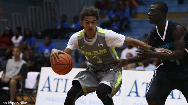 Trae Young was one of the 24 players selected for the McDonald's All American game. (Photo: Jon Lopez/Nike)