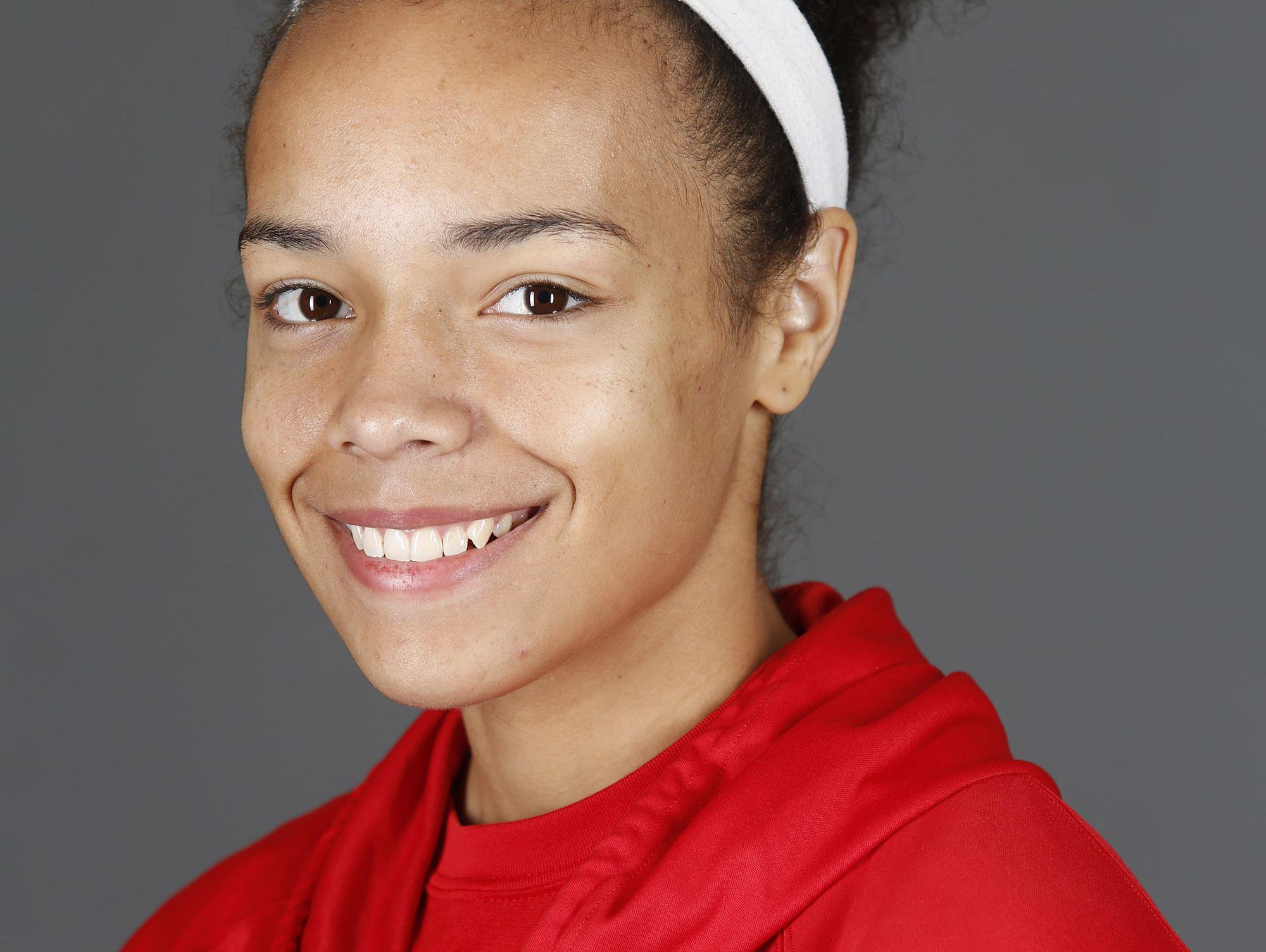 Butler High School basketball player Tasia Jeffries. Nov. 7, 2016.