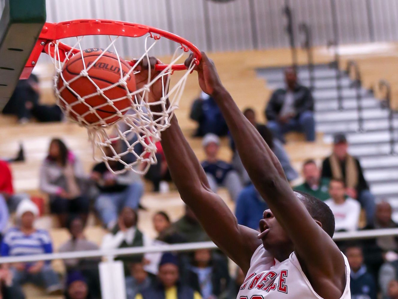 Lawrence North big man Ra Kpedi was a force inside for the Wildcats against Cathedral on Wednesday night.