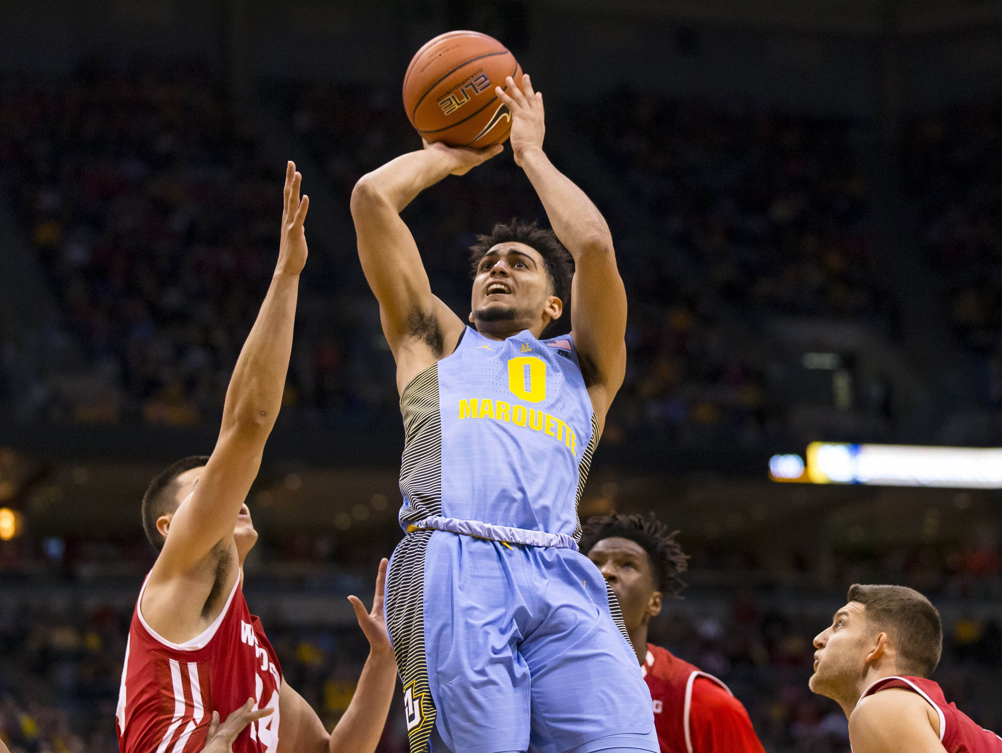 Marquette Golden Eagles guard Markus Howard has elevated his game.