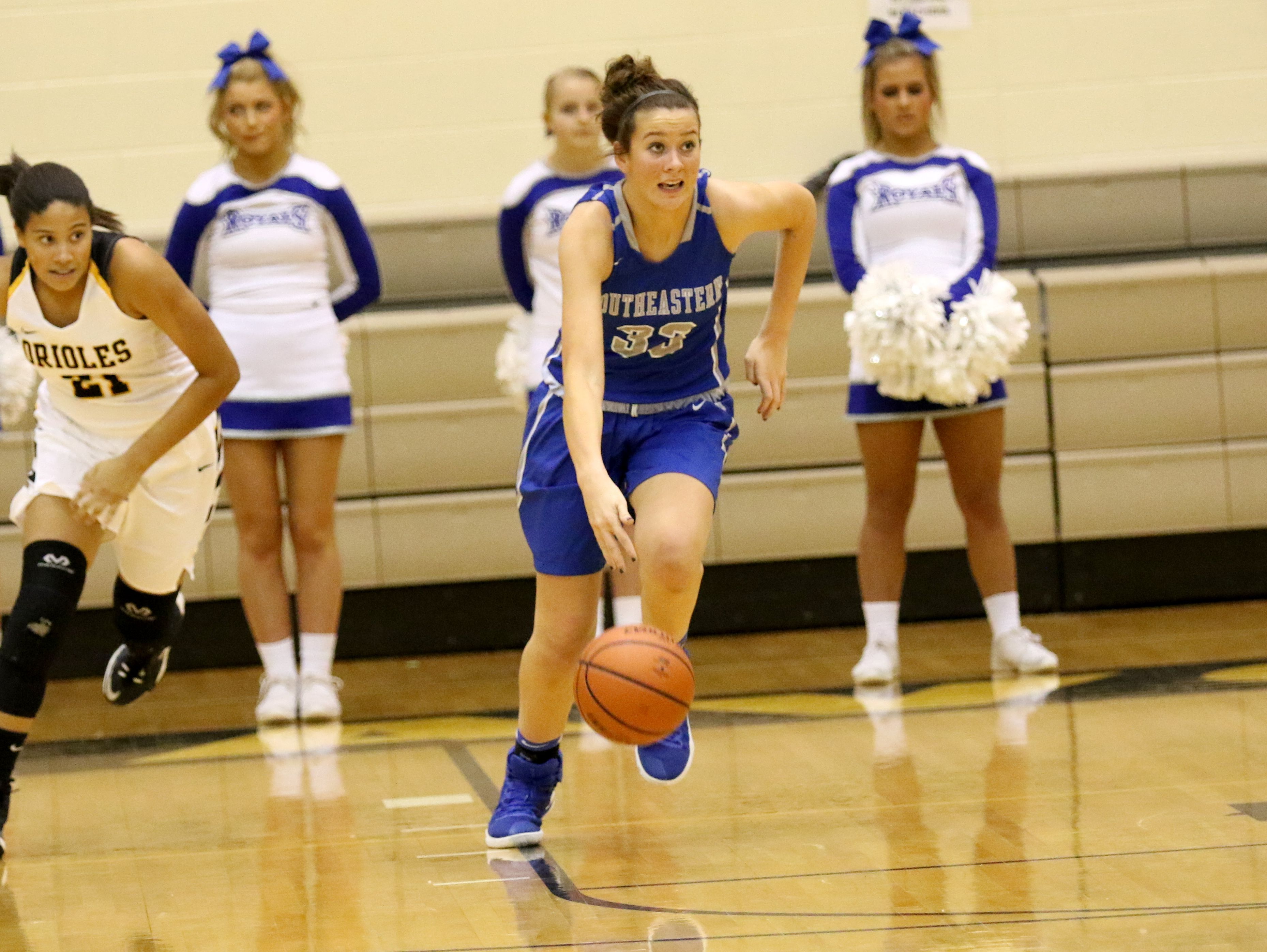 Hamilton Southeastern freshman Sydney Parrish is attracting plenty of interest from college coaches.