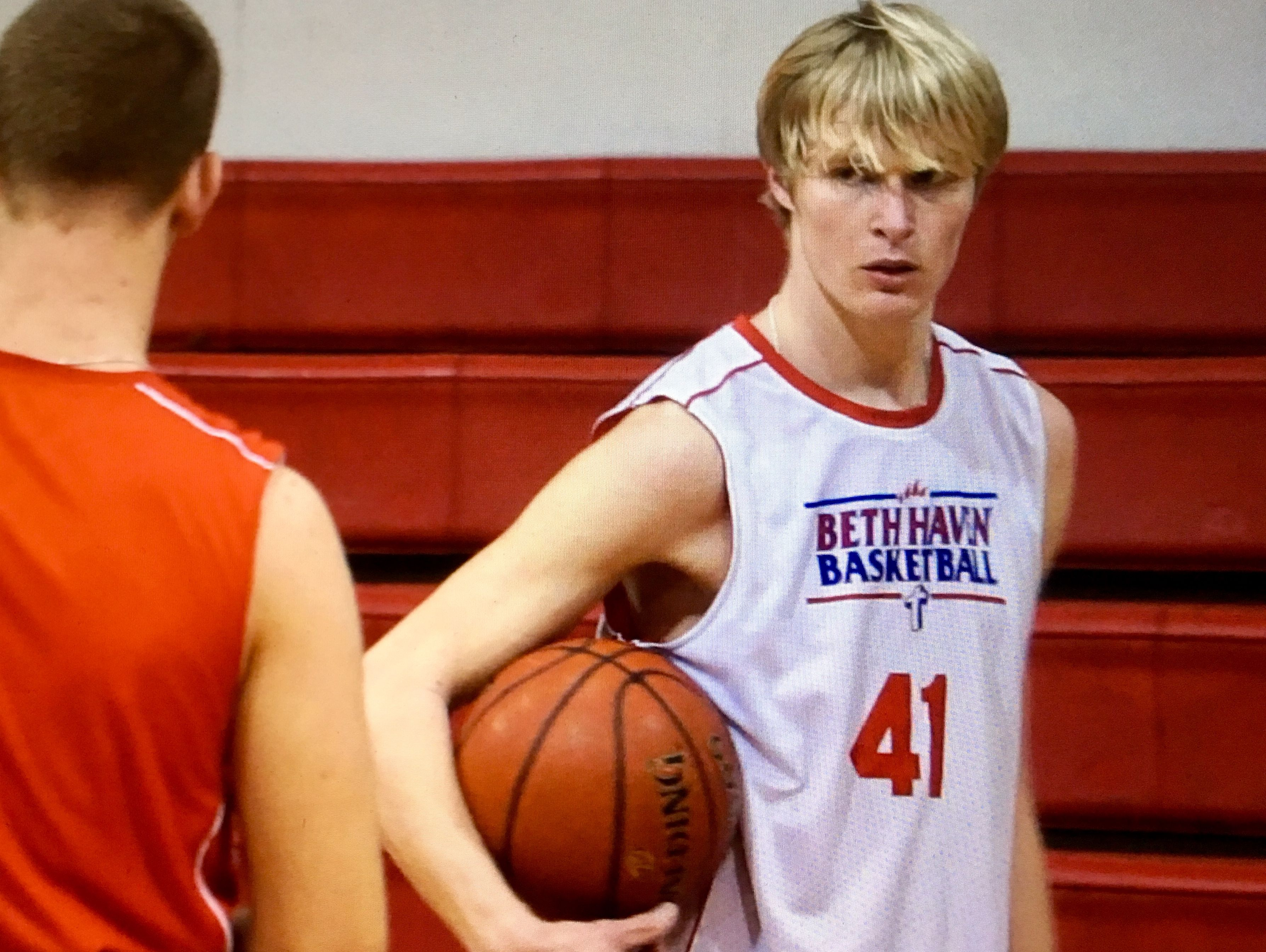 Beth Haven basketball player Cody Mikel.