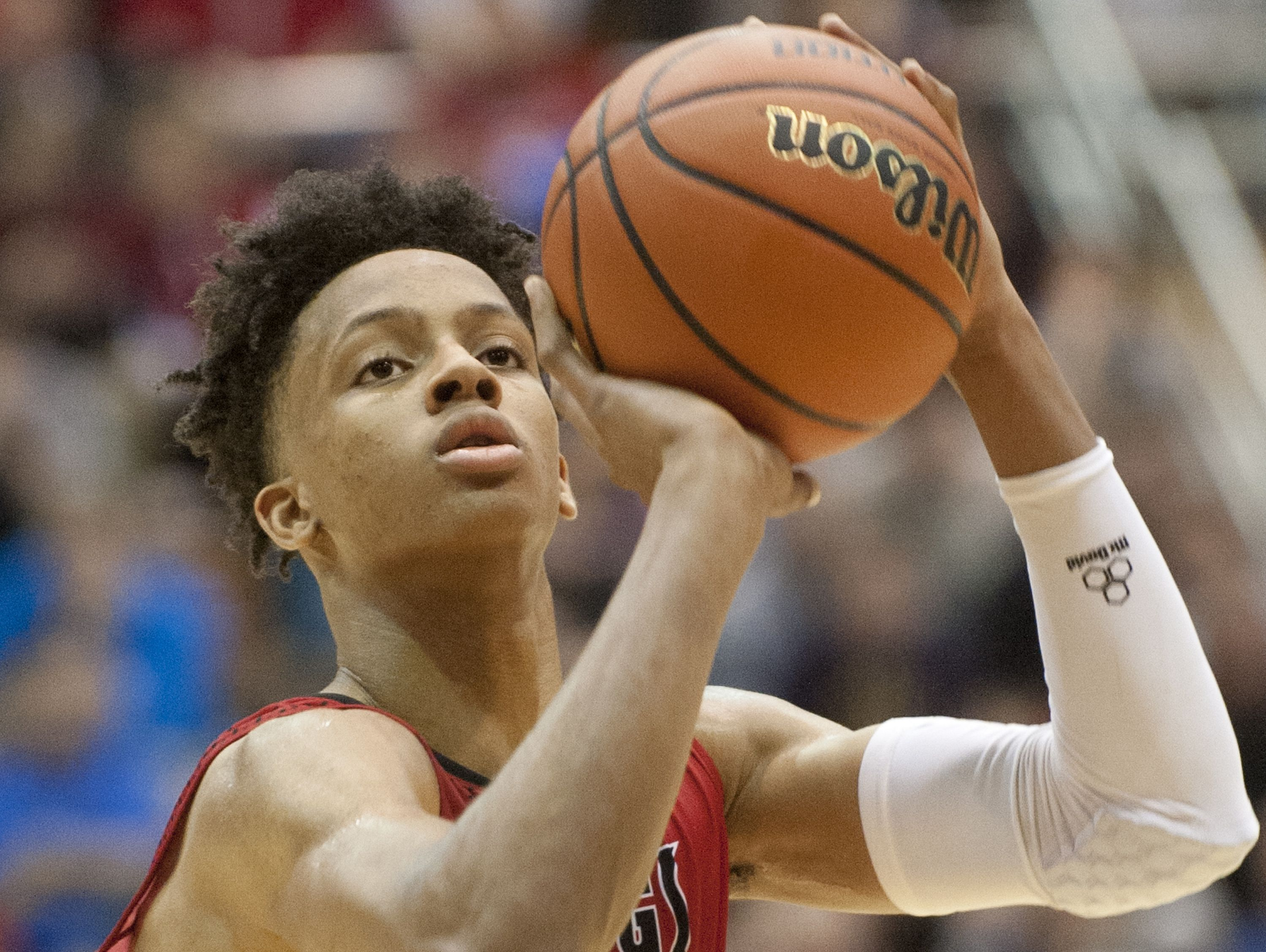 New Albany's Romeo Langford is the No. 3 ranked player in 2018 class.