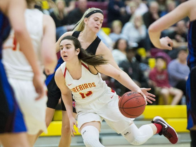 Scottsdale Chaparral's Maddie Vick scored 16 points in the second half to lead the Firebirds to a 50-44 win over Arcadia.