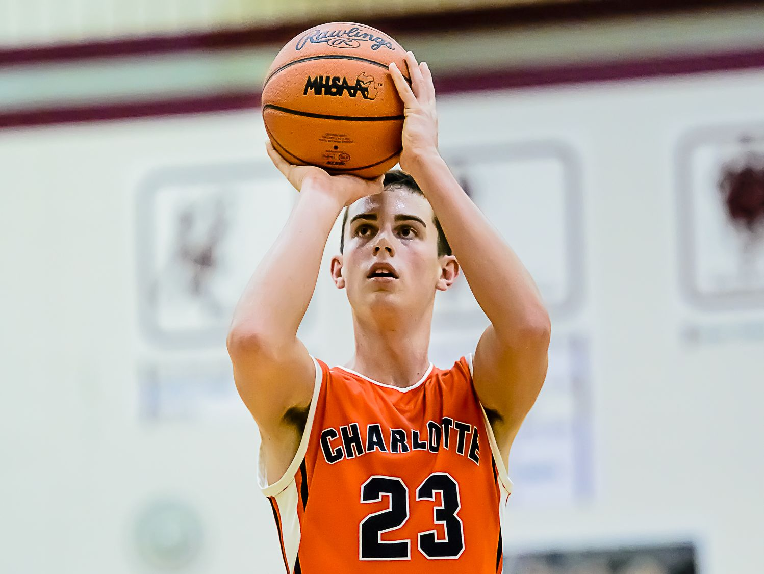 Charlotte's Kyle Peterson is one of the Lansing area's top scorers.