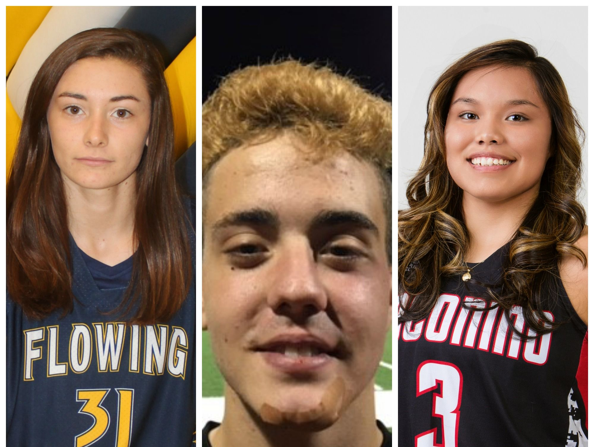 """Congratulations to the Arizona Sports Awards Academic All-Star of the Week, Karena Garcia, and Athletes of the Week, Alfonso """"Alfi"""" Calzado and Jacqulynn """"JJ"""" Nakai, presented by La-Z-Boy Furniture Galleries, for Jan. 19-26."""