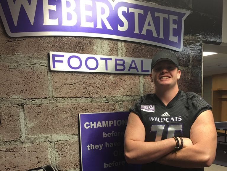 Valley Vista offensive lineman Creston Cooledge. Committed: WEBER STATE