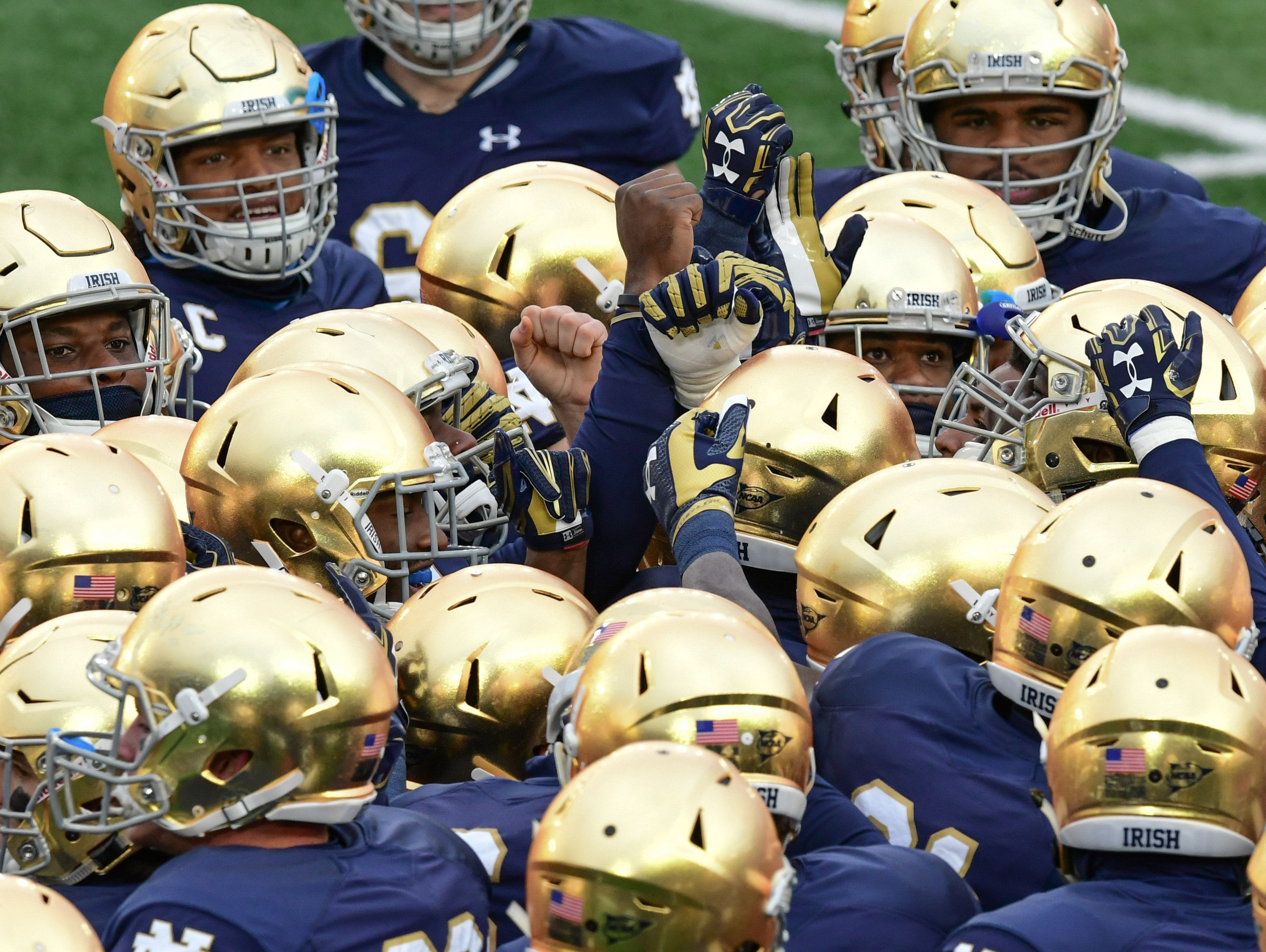FILE — Notre Dame continues to retool its football staff.