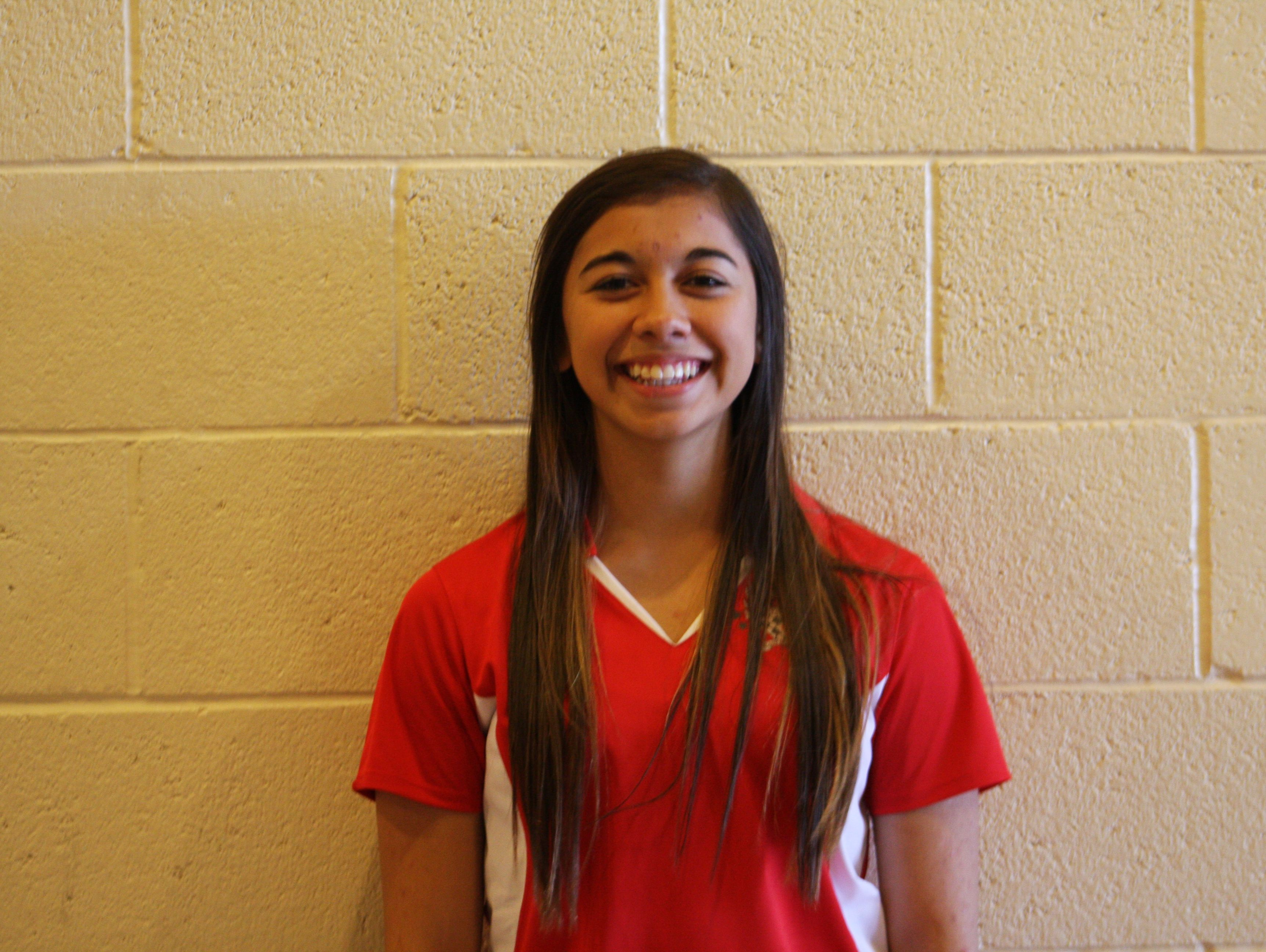Shanya Marquez, from Mohave Valley River Valley, is the Arizona Sports Awards Female Athlete of the Week, presented by La-Z-Boy Furniture Galleries, for Jan. 26-Feb. 2.
