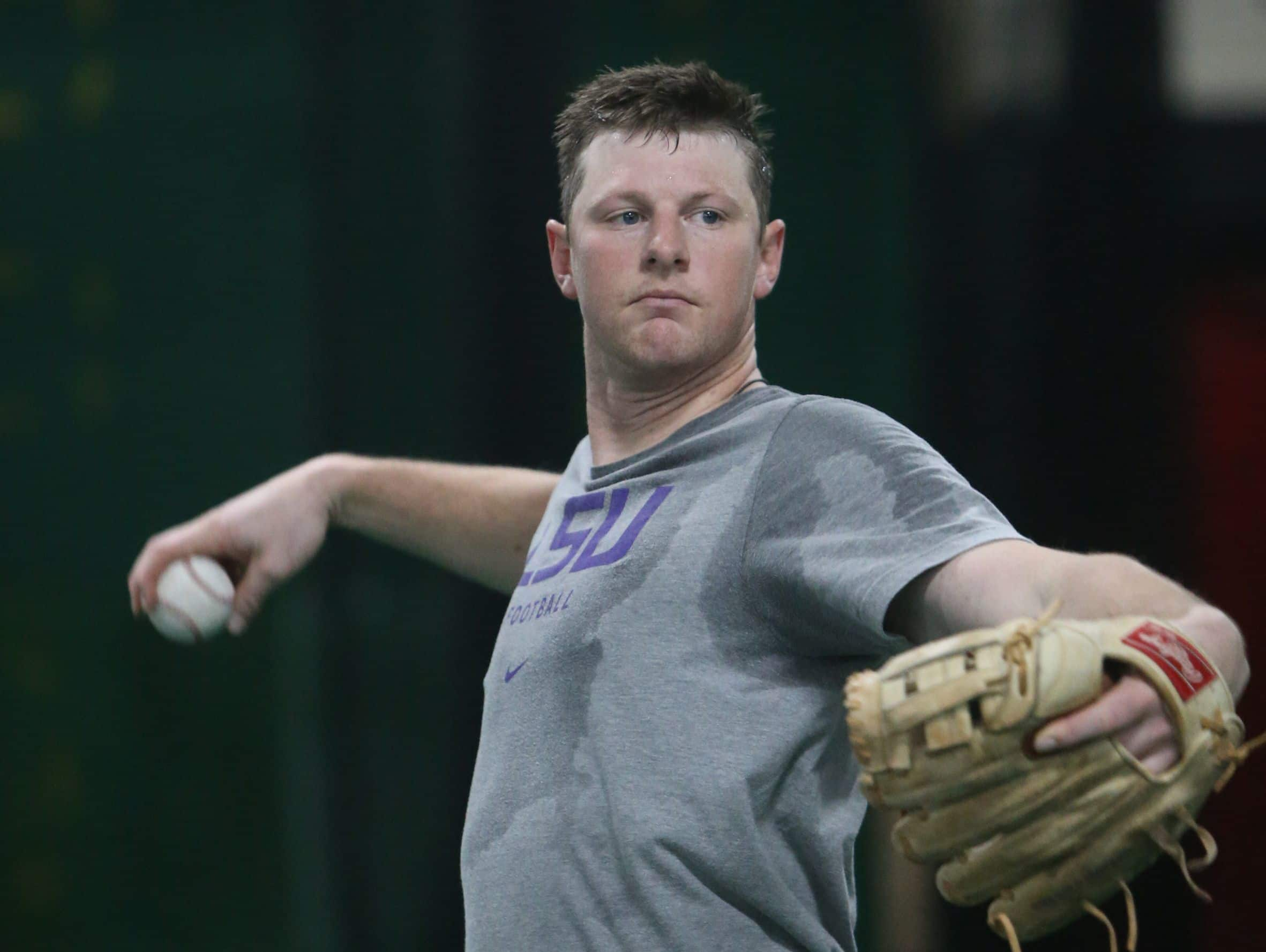 Colorado Rockies All-Star DJ LeMahieu goes through infield drills at 2SP Sports Performance facility in Madison Heights on Jan. 16, 2017.