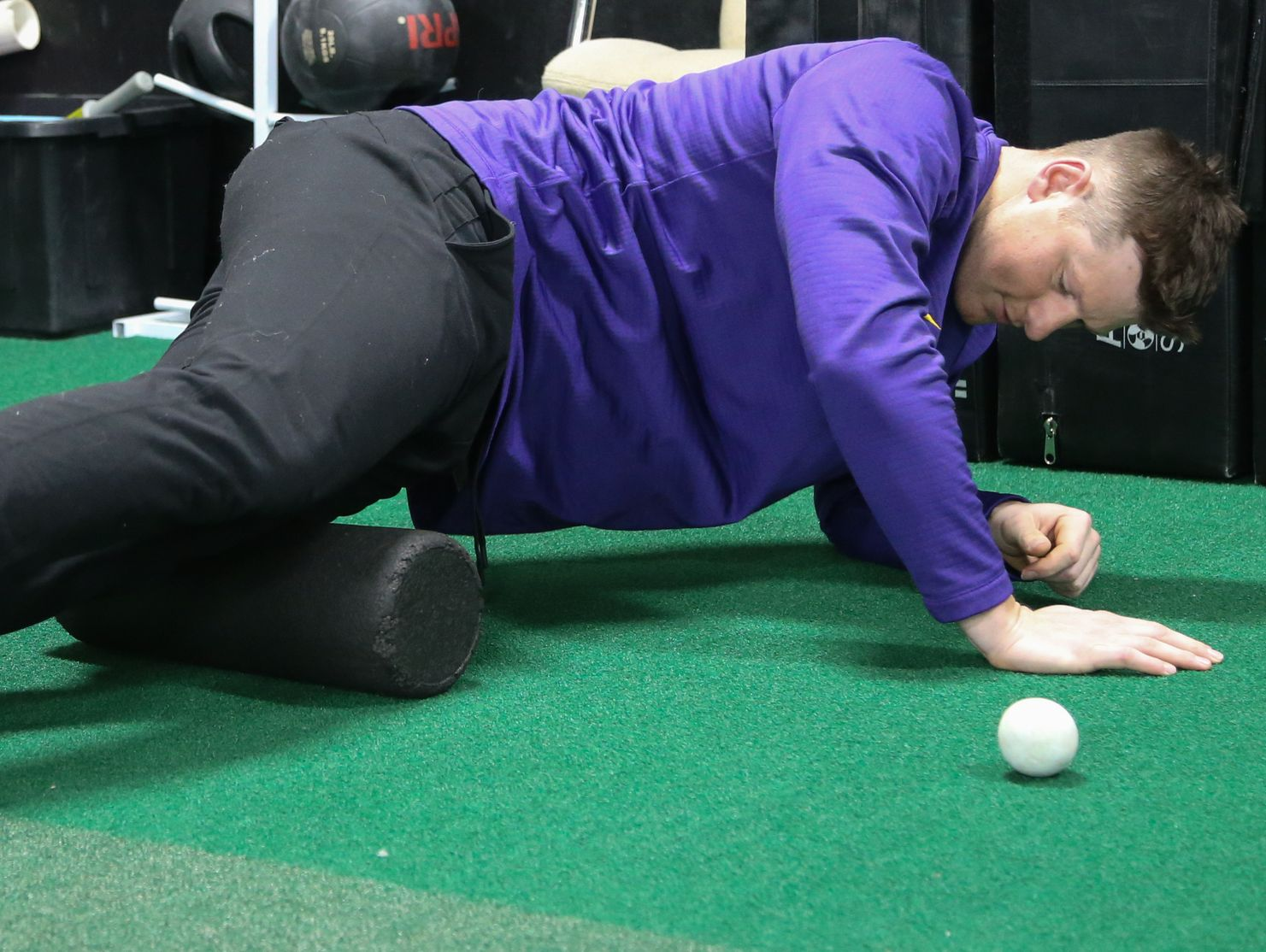 Colorado Rockies All-Star DJ LeMahieu works out at 2SP Sports Performance facility in Madison Heights on Jan. 16, 2017.