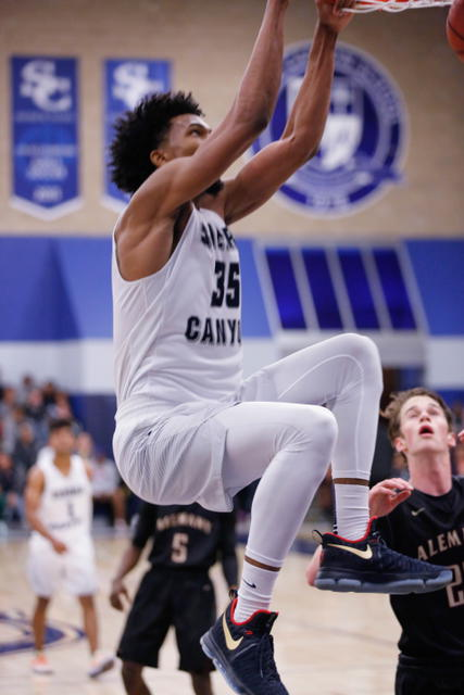 Marvin Bagley with the dunk (Photo: Sierra Canyon Athletics)