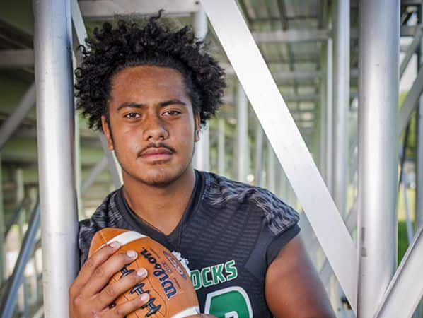 Phillip Paea, a two-way lineman at Berrien Springs (Mich.) High, received offers from Notre Dame, Michigan State and Michigan in a five-day span in February.
