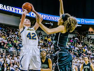 Ithaca's Kayla Belles was one of Friday's top performers.