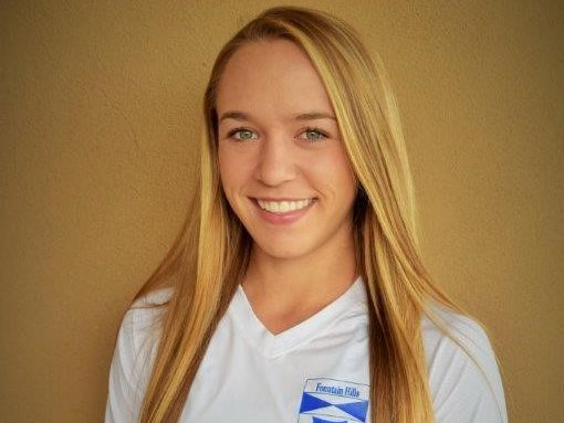 Erika Yost, from Fountain Hills, is the azcentral.com Sports Awards Female Athlete of the Week, presented by La-Z-Boy Furniture Galleries, for Feb. 16-23