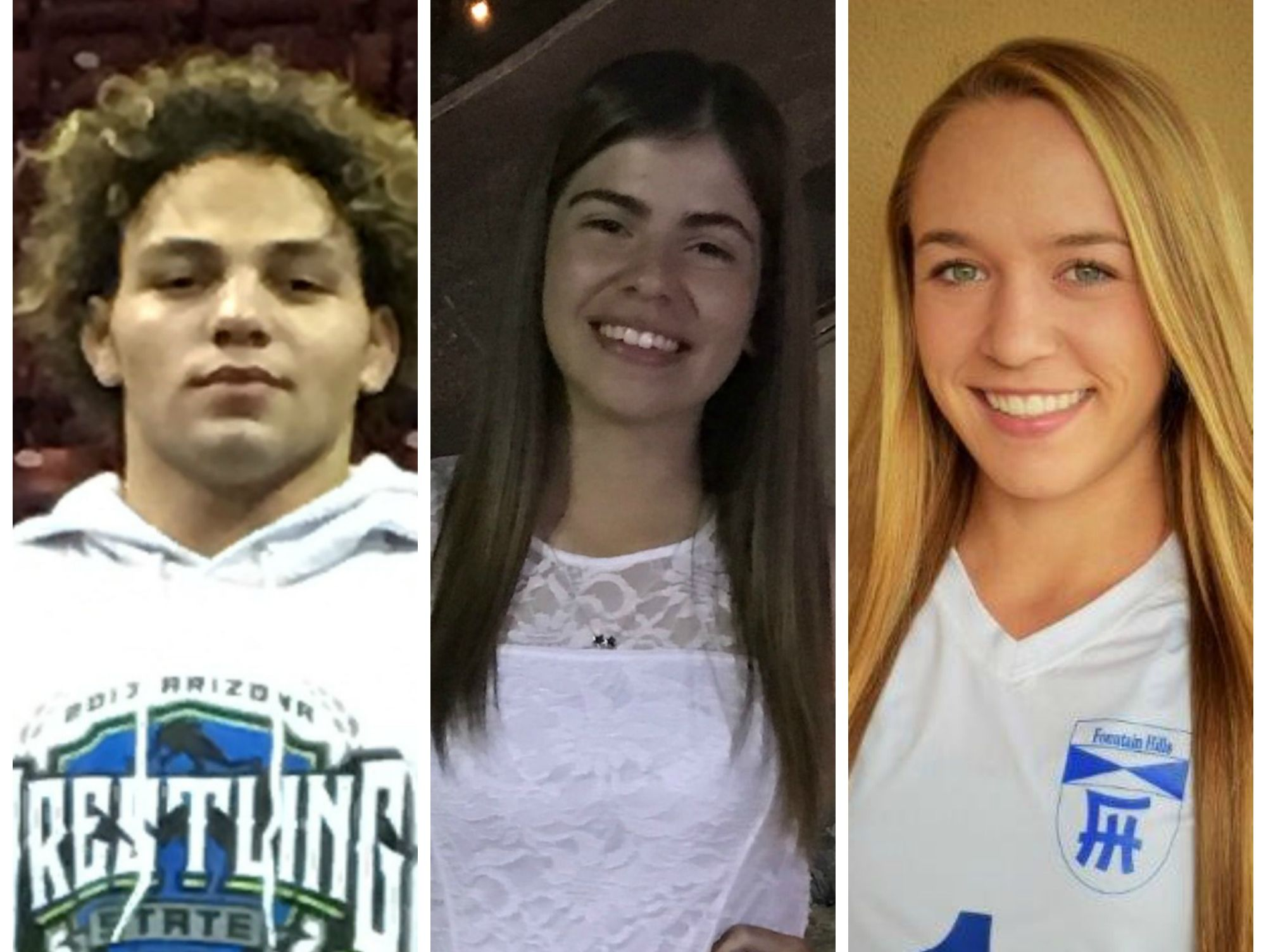 Congratulations to the azcentral.com Sports Awards Athletes of the Week, Trayvin Cato and Erika Yost, and the Academic All-Star of the Week, Vanessa Venjohn, for Feb. 16-23.