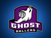 The Ghost Ballers logo.
