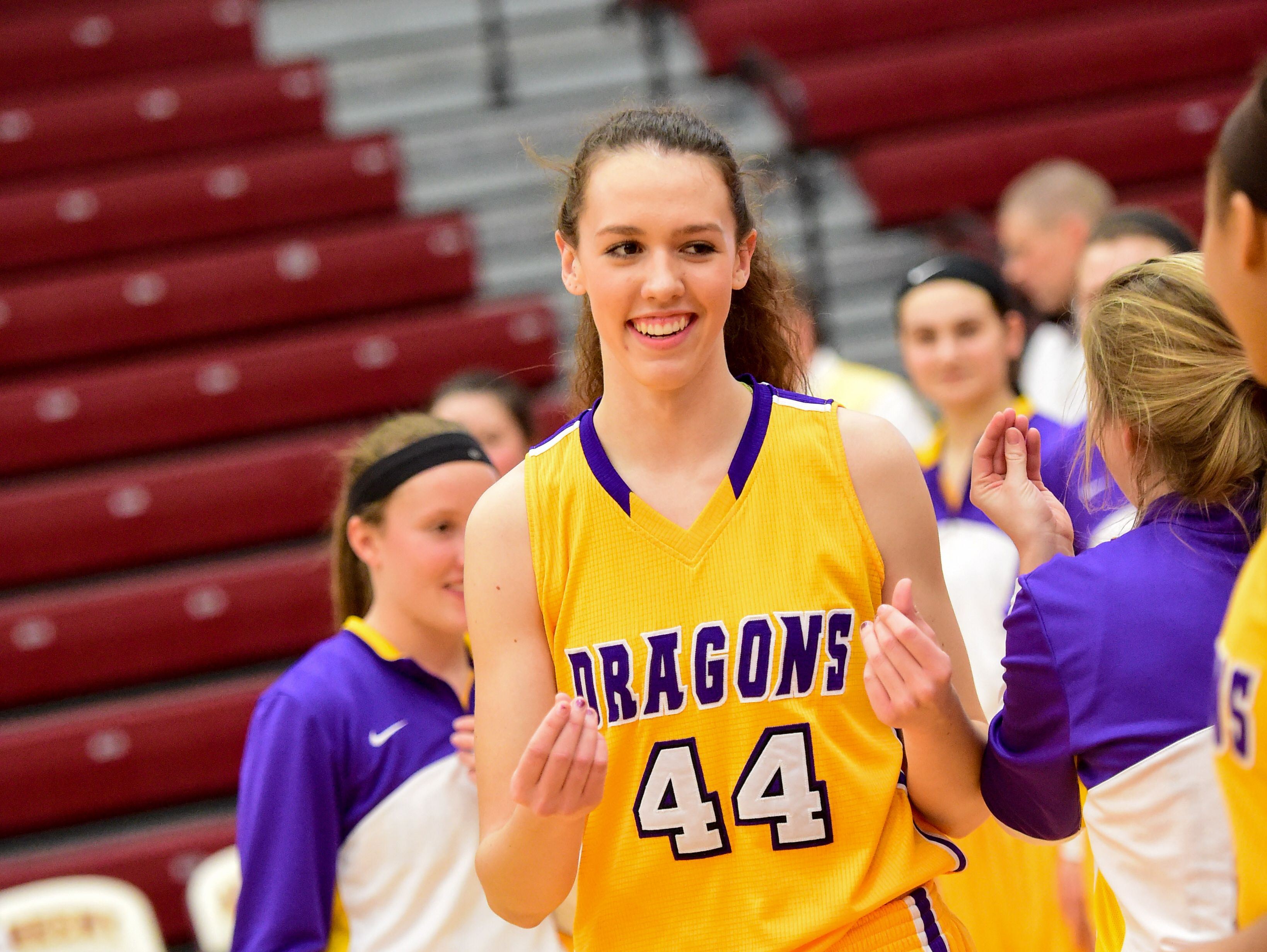 Johnston's Taryn Knuth is a star in basketball but selected volleyball as her future college sport.