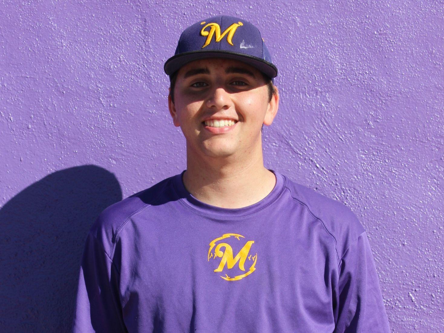 Mesa High school pitcher Jacob Hanna.