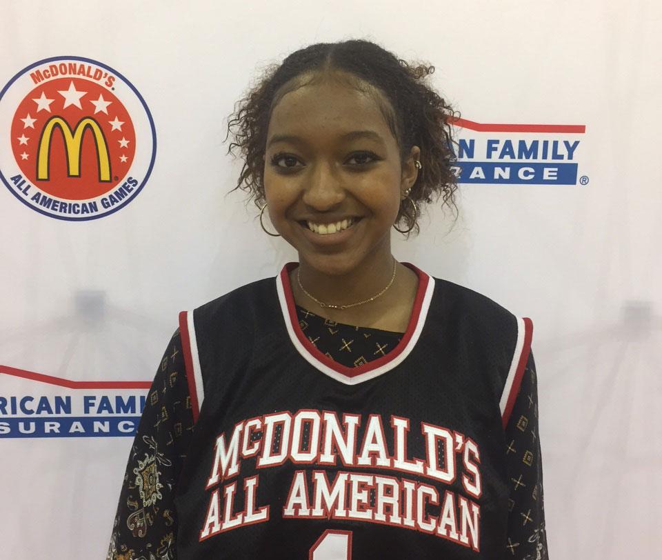 Deauzya 'DiDi' Richards (Photo: McDonald's All American Games)
