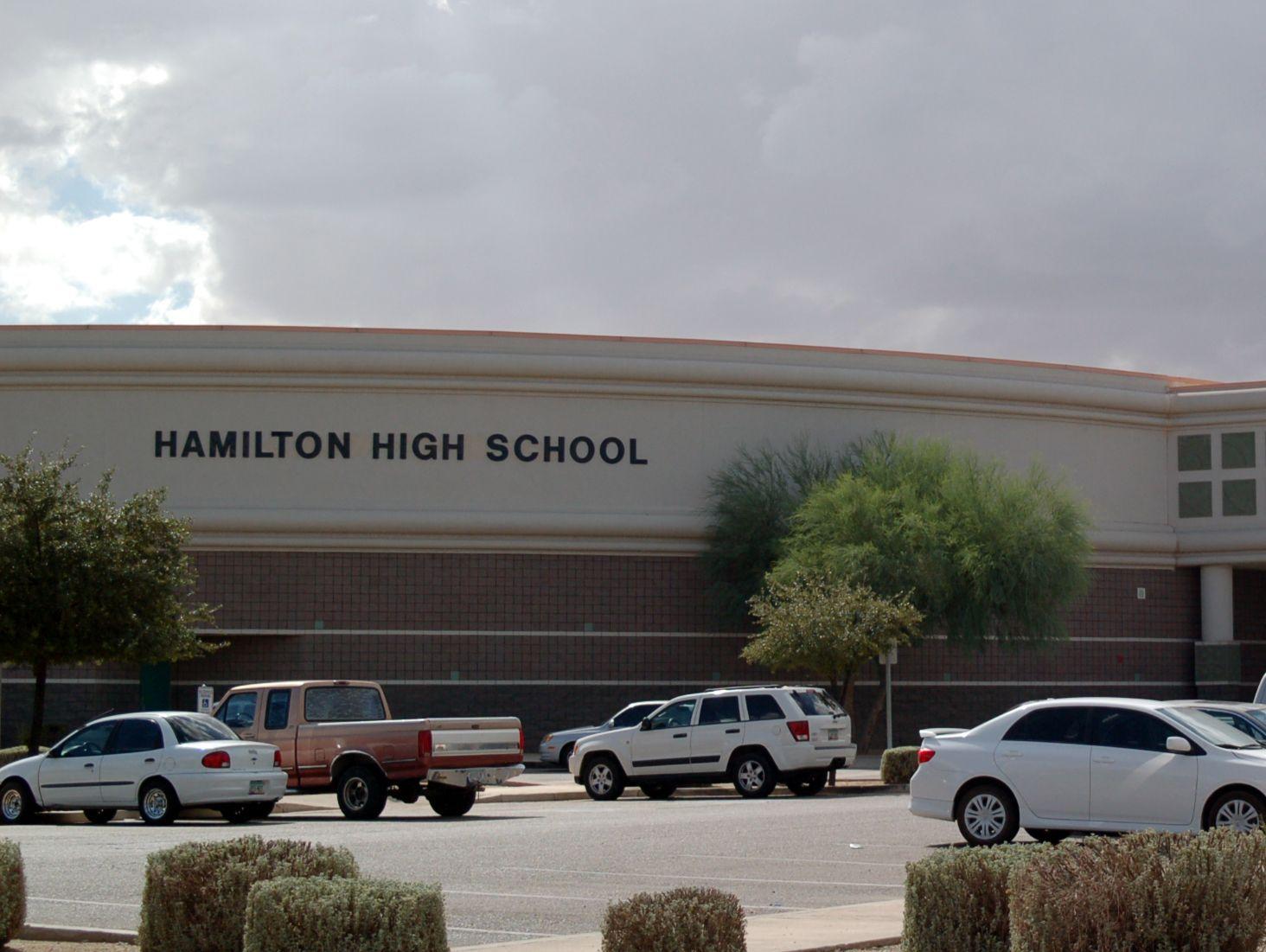 Hamilton High School in Chandler.