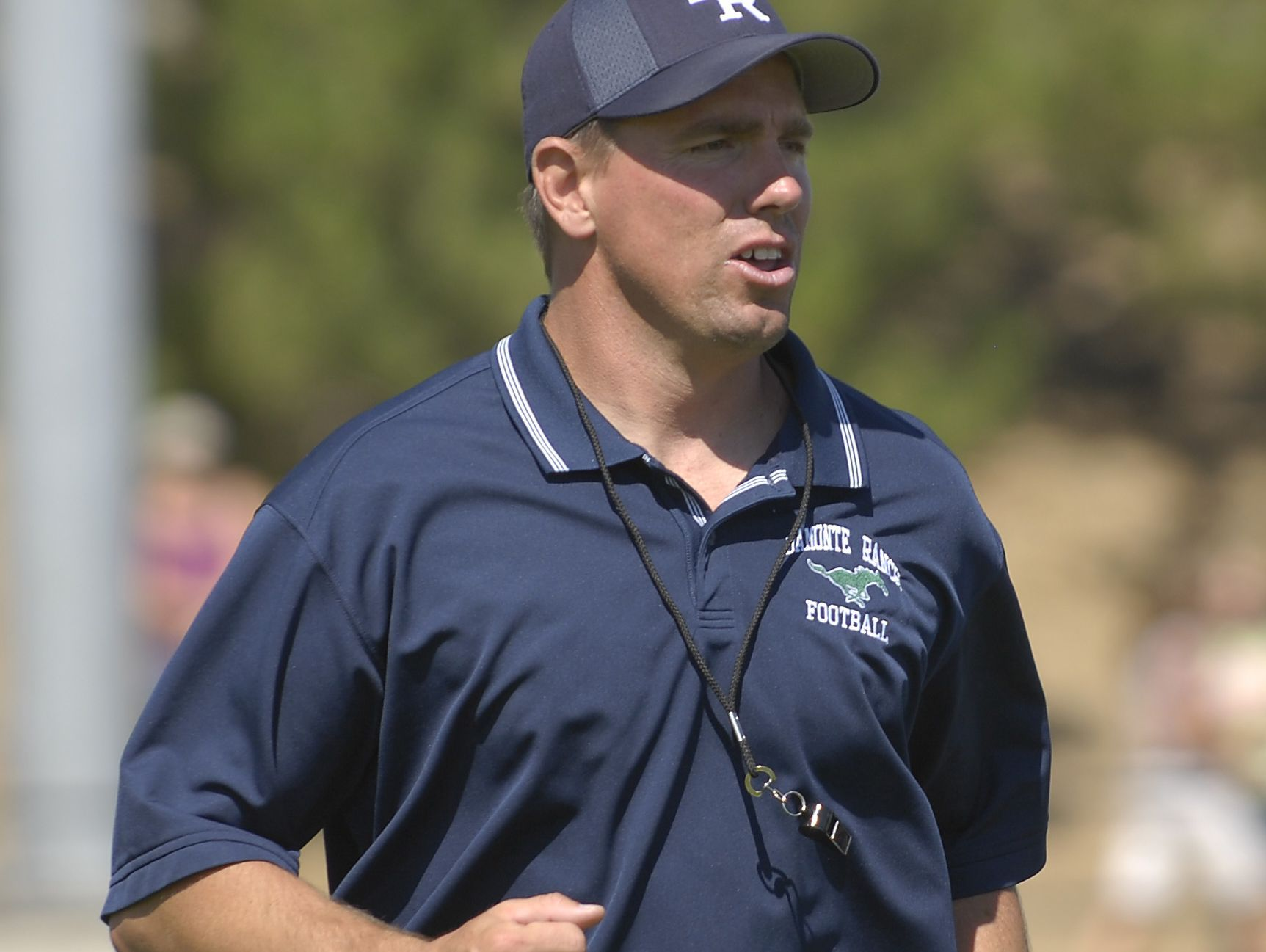Tony Amantia is show in 2006 when he was the Damonte Ranch football coach.
