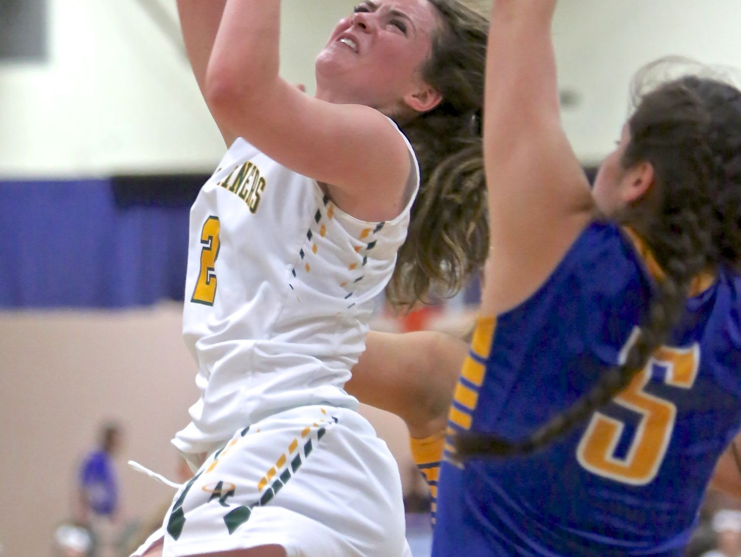 Bishop Manogue beat Reed, 62-45, Friday at Carson in a Northern 4A girls basketball semifinal game.