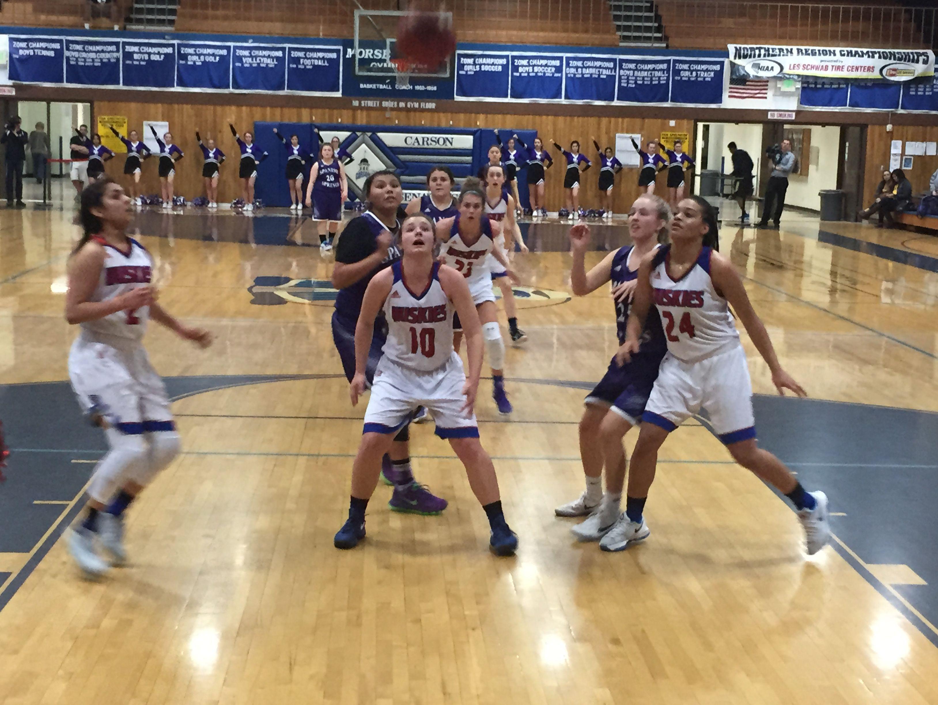 Reno beat Spanish Springs, 51-26, Friday in a girls basketball Northern 4A Regional semifinal at Carson