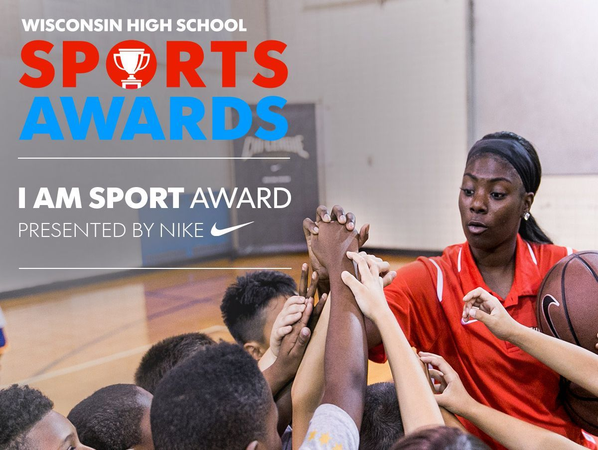 USA TODAY NETWORK-Wisconsin is seeking high school athletes who are committed to getting kids active in their communities. The I Am Sport Award, presented by Nike, will be given to the winning nominee as part of the May 12 Wisconsin High School Sports Awards show. The event is sponsored by Bellin Health and Festival Foods and supported by Mills Fleet Farm and Forefront Dermatology.