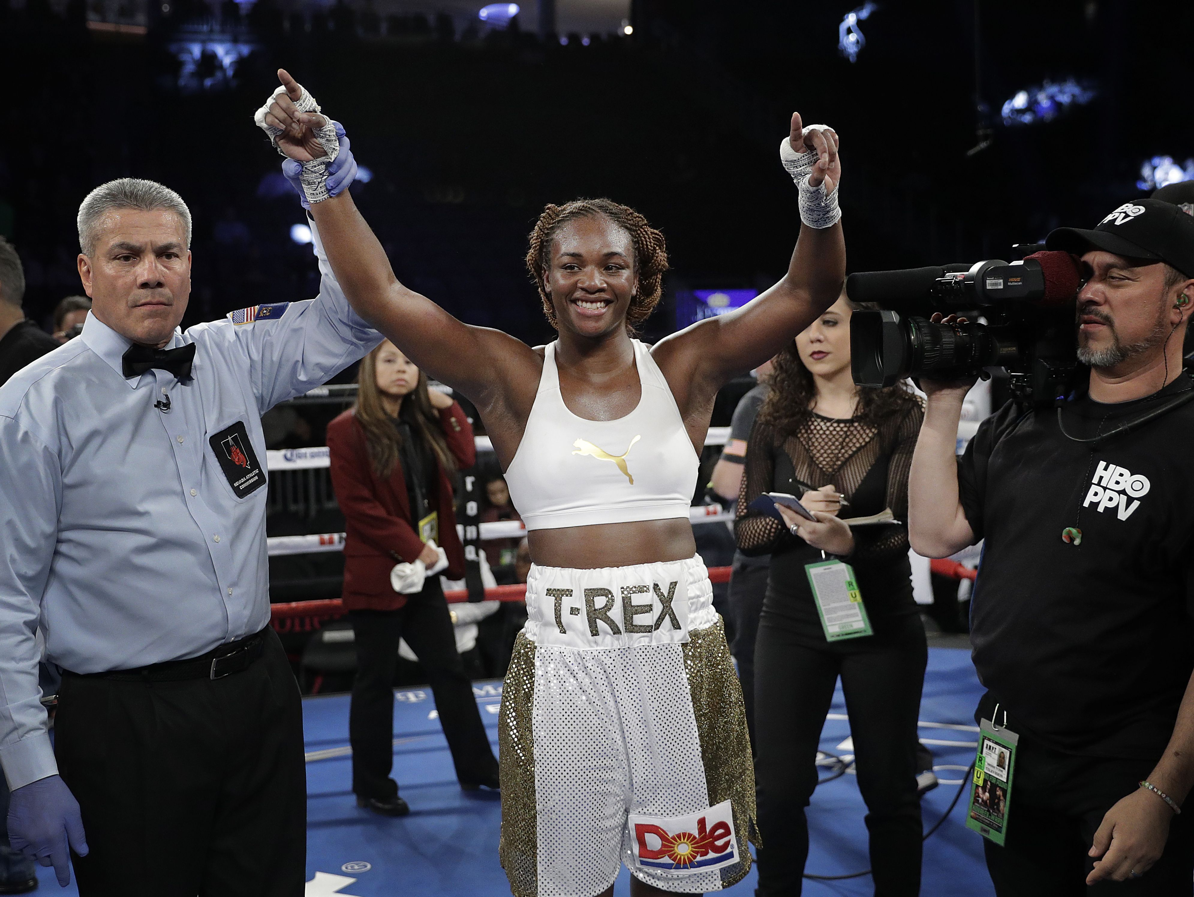 Two-time Olympic gold champion Claressa Shields, center, is the featured speaker for this year's Greater Lansing Sports Awards.