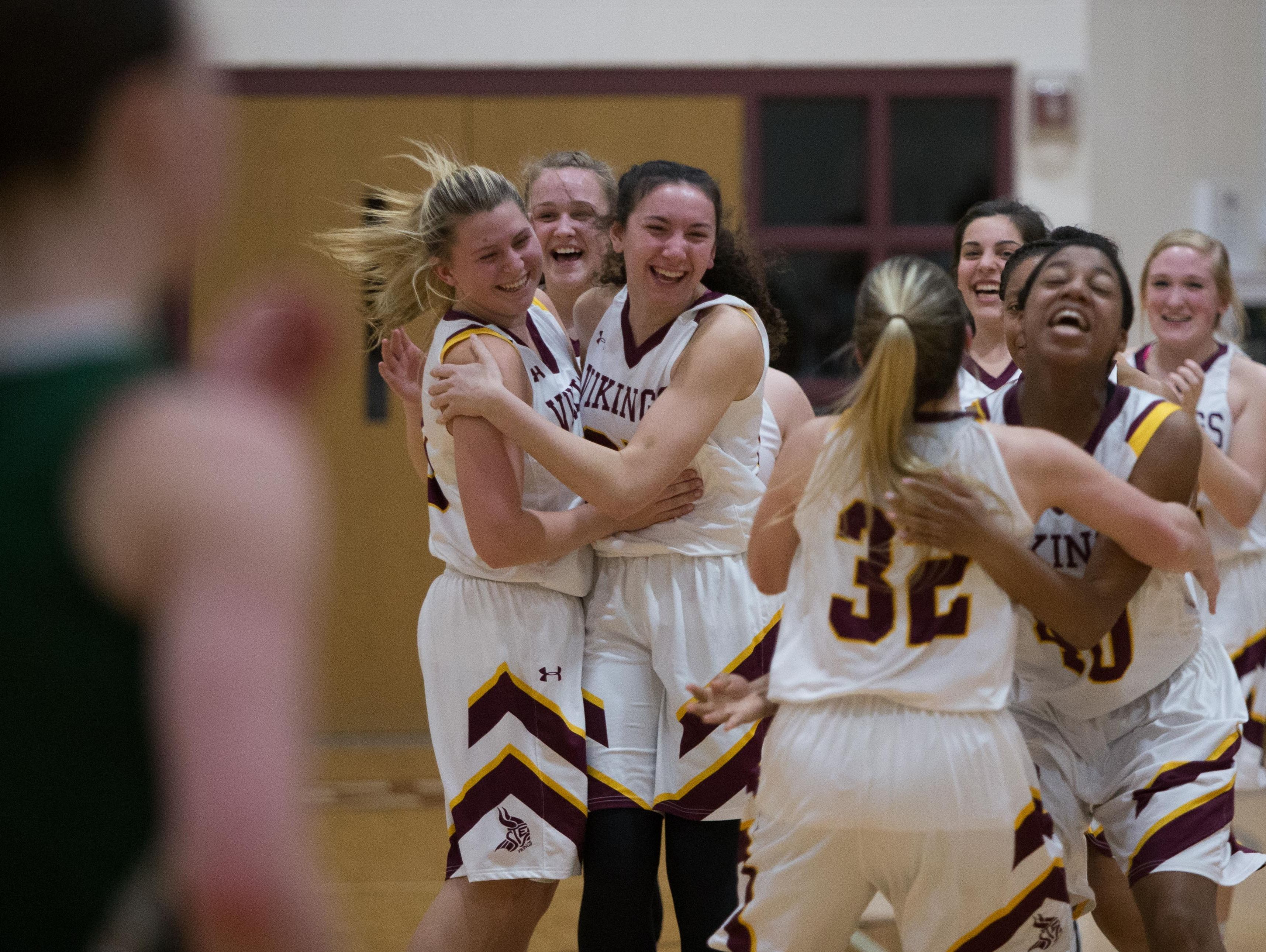 St. Elizabeth defeats Archmere 49-42 in the second round of the DIAA state girls basketball tournament at St. Elizabeth Thursday.