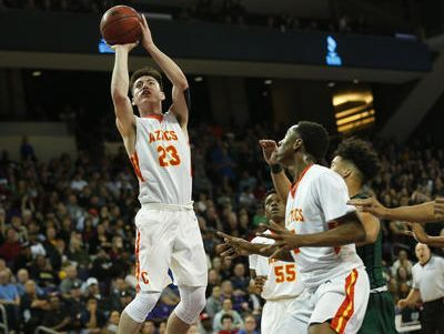 Corona del Sol senior guard Alex Barcello, who broke Lamont Long's school all-time scoring record this year, will compete in a national high school 3-point ompetition that will air on CBS on April 2.
