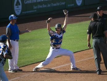 Sandra Day O'Connor junior Nolan Gorman hit four home runs in three games to be the Hitter of the Week.